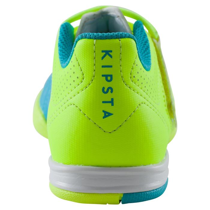 Chaussure de futsal enfant Agility 500 bleue à scratch - 1176462