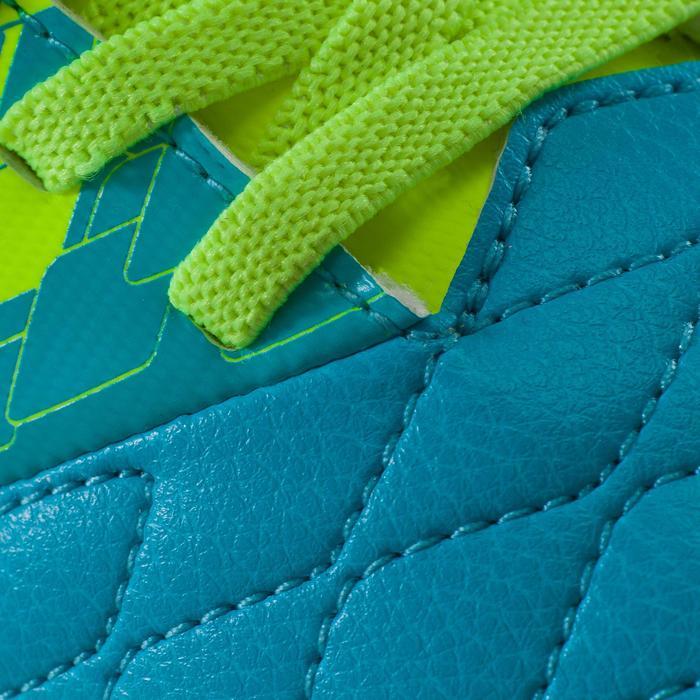Chaussure de futsal enfant Agility 500 sala jaune bleue