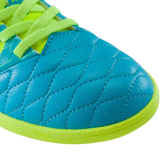Chaussure de futsal enfant Agility 500 bleue à scratch - 1176503