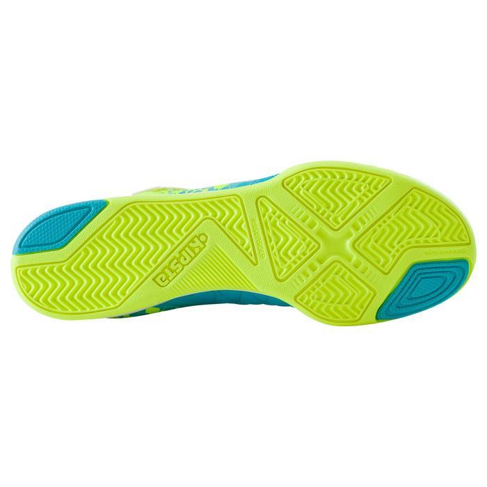 Chaussure de futsal enfant Agility 500 bleue à scratch - 1176505