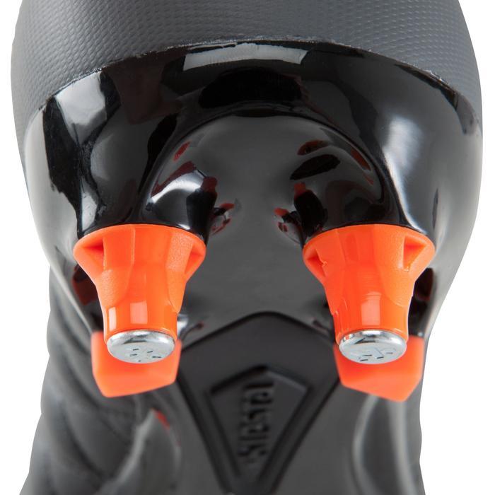 Chaussure de football adulte terrains gras Agility 900 SG noire grise - 1176518
