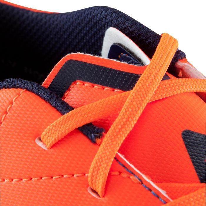 Chaussure de football enfant terrains secs Agility 500 FG bleu orange - 1176520