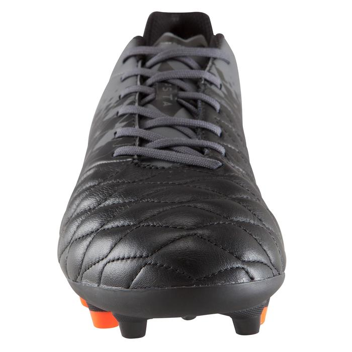 Chaussure de football adulte terrains secs Agility 900 FG noire grise - 1176532