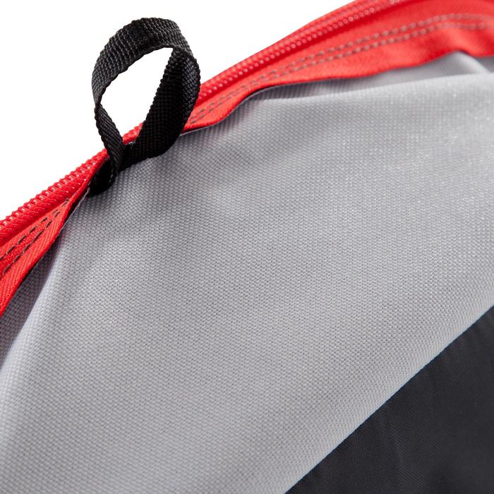 Sac de sports collectifs Kipocket 80 litres gris rouge