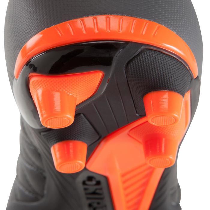Chaussure de football adulte terrains secs Agility 900 FG noire grise - 1176542