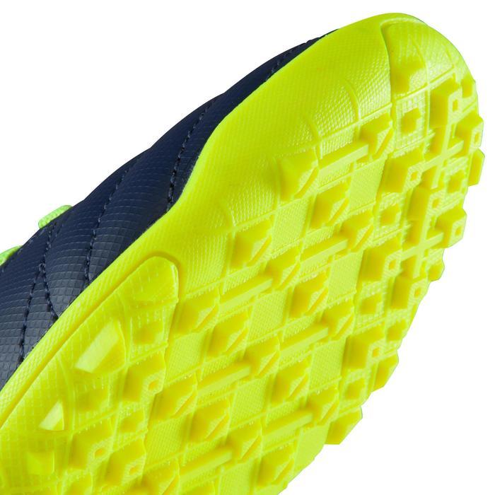 Chaussure de football enfant terrains durs Agility  300 HG à scratch bleue - 1176545