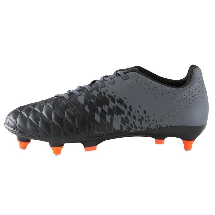 Chaussure de football adulte terrains gras Agility 900 SG noire grise - 1176550