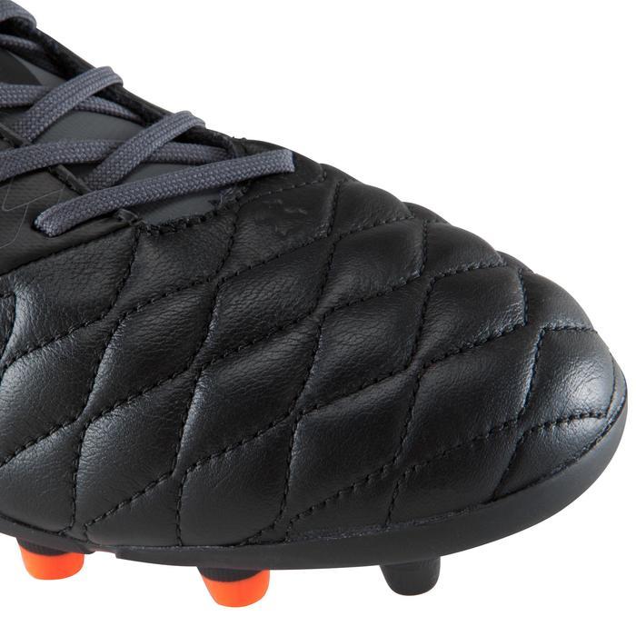 Chaussure de football adulte terrains secs Agility 900 FG noire grise - 1176553