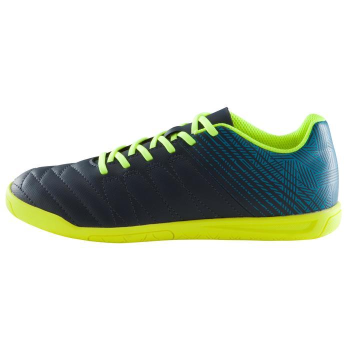 Chaussure de futsal enfant CLR 500 bleue jaune - 1176555