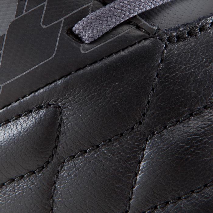 Botas de fútbol adulto terreno seco Agility 900 FG negro gris