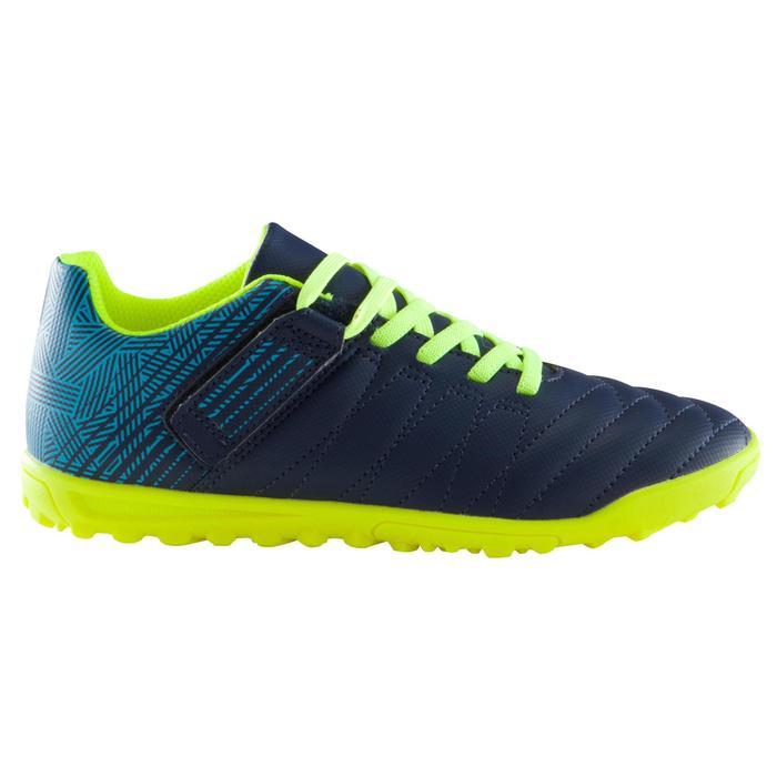 Chaussure de football enfant terrains durs Agility  300 HG à scratch bleue - 1176568
