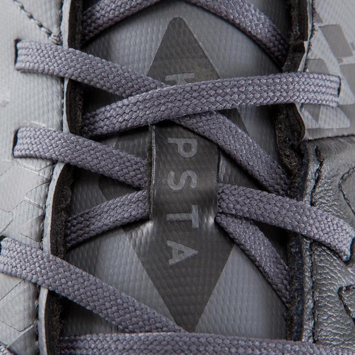 Chaussure de football adulte terrains secs Agility 900 FG noire grise - 1176574