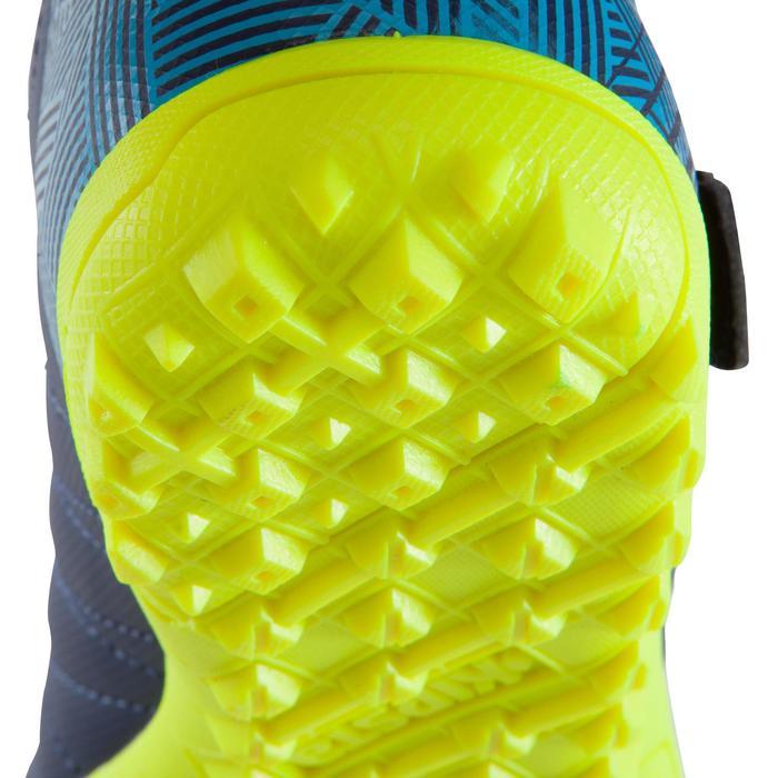 Chaussure de football enfant terrains durs Agility  300 HG à scratch bleue - 1176579