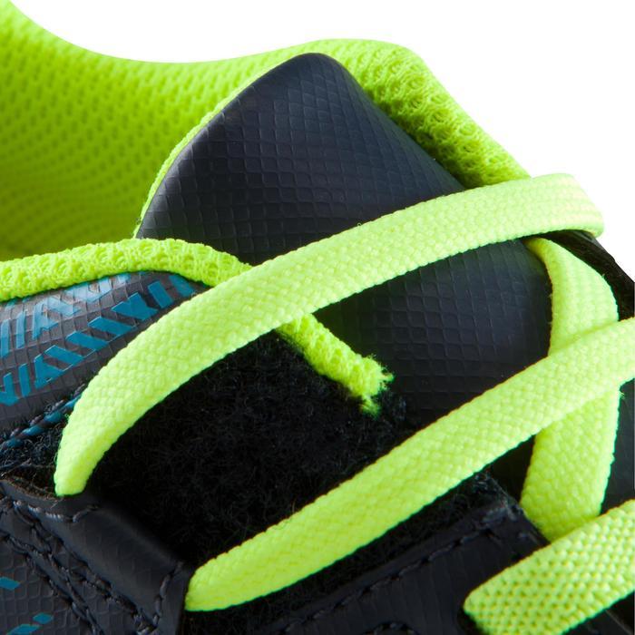 Hallenschuhe Futsal Fußball CLR 500 mit Klettverschluss Kinder blau