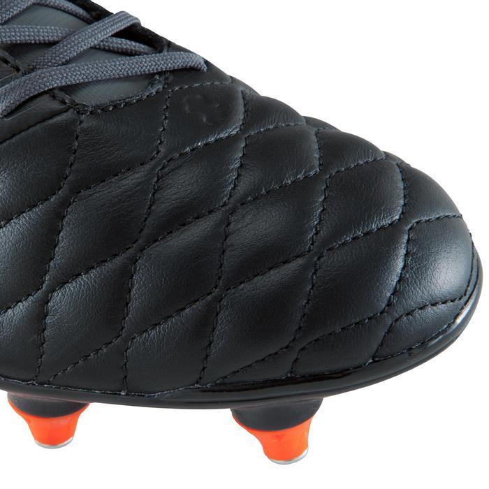Voetbalschoenen Agility 900 SG voor drassig terrein, volwassenen, zwart grijs