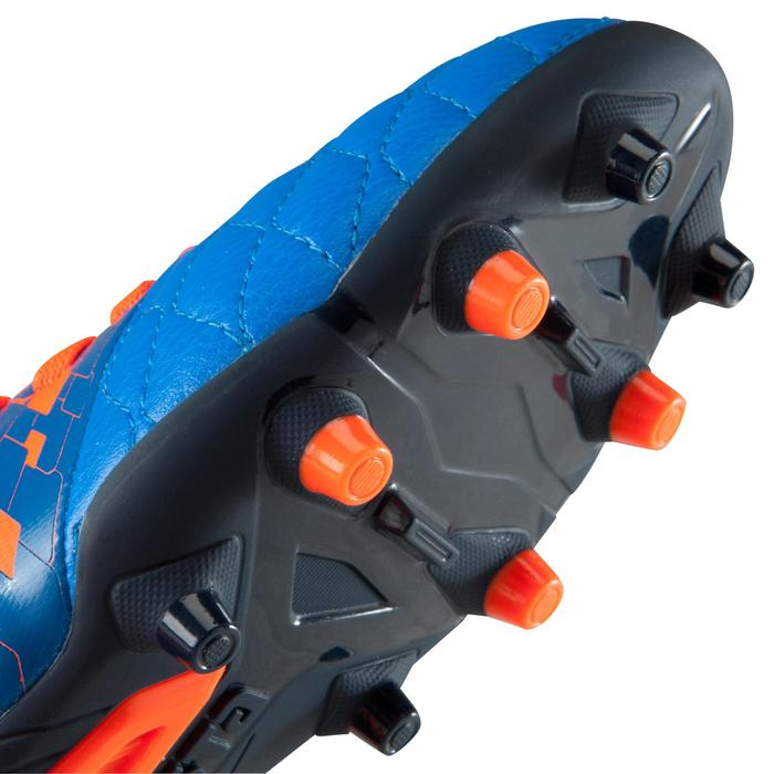 Chaussure de football enfant terrains secs Agility 500 FG bleu orange - 1176601
