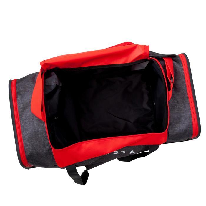 Sporttasche Kipocket 80L grau/rot