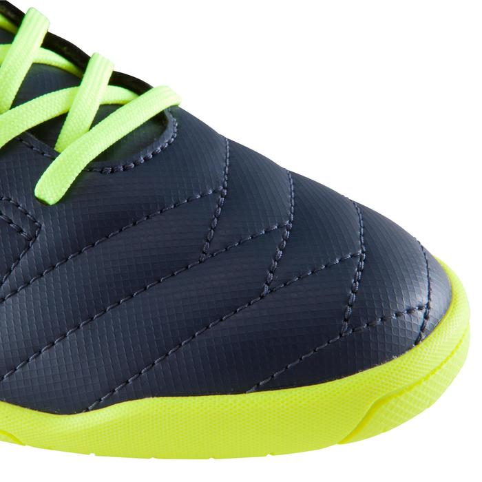 Chaussure de futsal enfant CLR 500 bleue jaune - 1176608