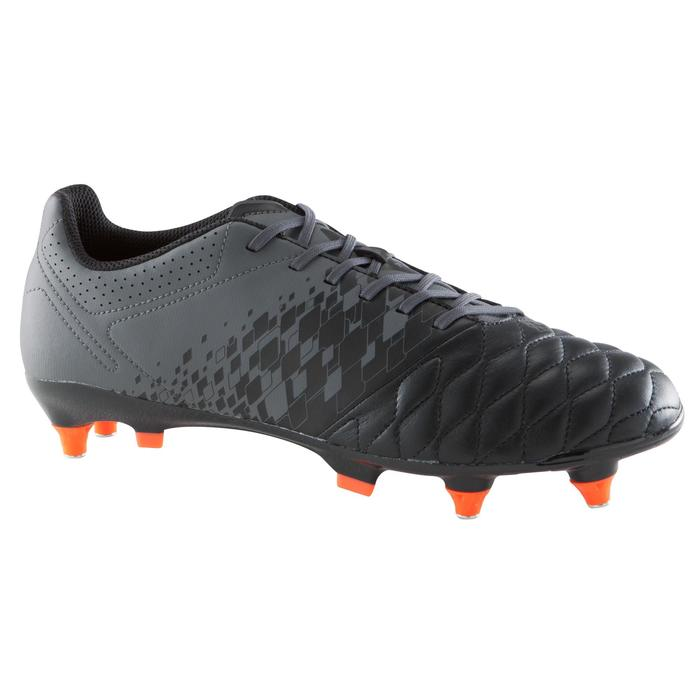 Chaussure de football adulte terrains gras Agility 900 SG noire grise - 1176614