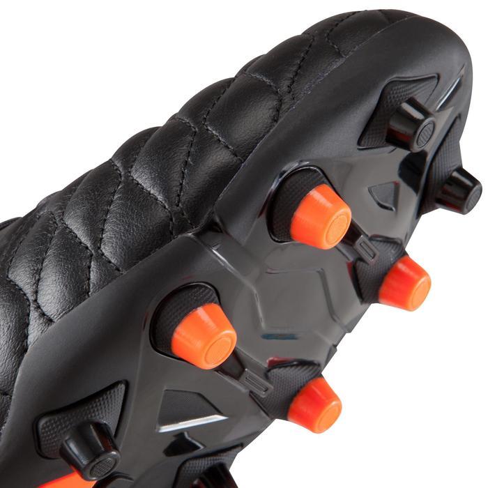 Chaussure de football adulte terrains secs Agility 900 FG noire grise - 1176621