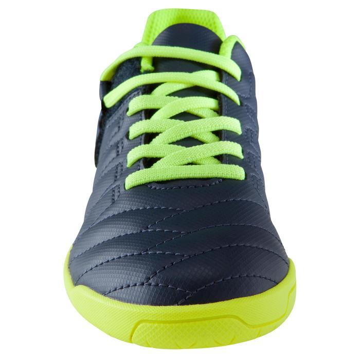 Chaussure de futsal enfant CLR 500 à scratch bleue - 1176626