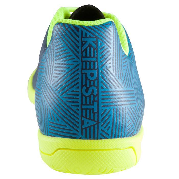 Chaussure de futsal enfant CLR 500 bleue jaune - 1176634