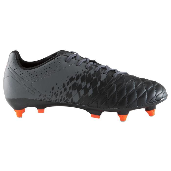 Chaussure de football adulte terrains gras Agility 900 SG noire grise - 1176636