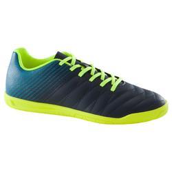 Zapatillas de fútbol sala CLR 500 júnior azul amarillo