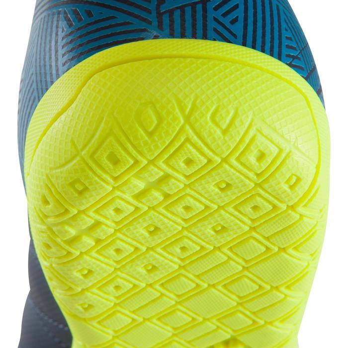 Chaussure de futsal enfant CLR 500 bleue jaune - 1176660