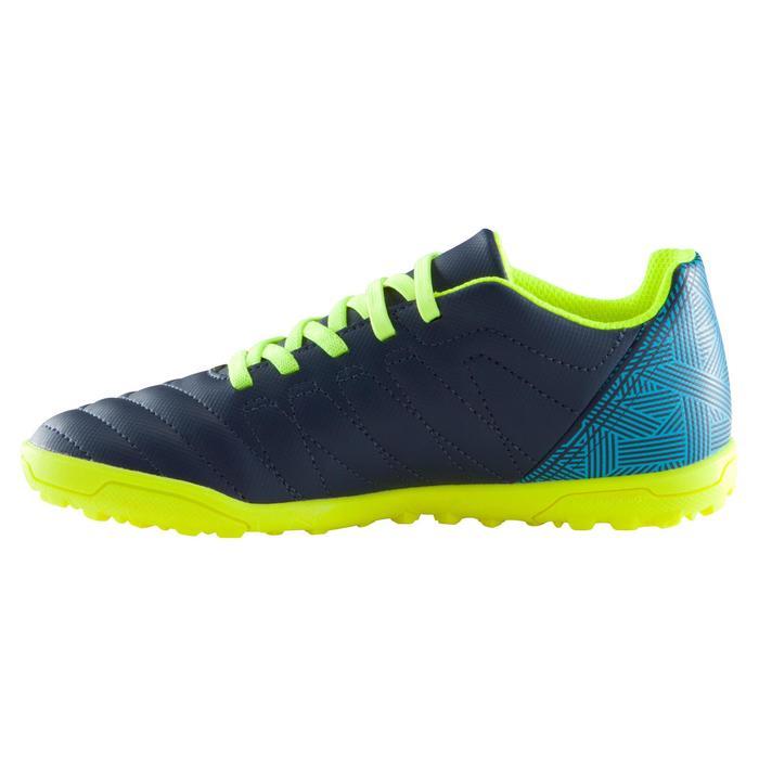 Chaussure de football enfant terrains durs Agility  300 HG à scratch bleue - 1176662