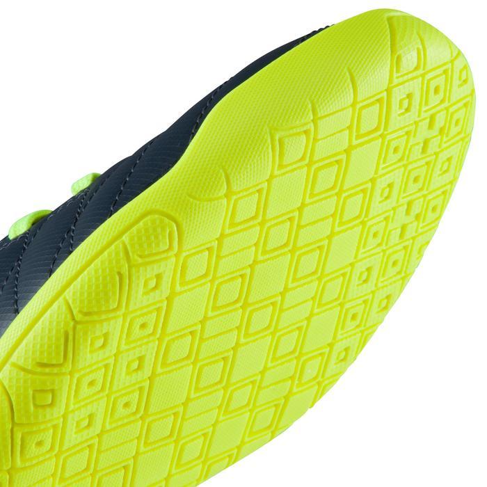 Chaussure de futsal enfant CLR 500 bleue jaune - 1176665