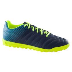 Chaussure de football enfant terrains durs CLR 500 HG bleue