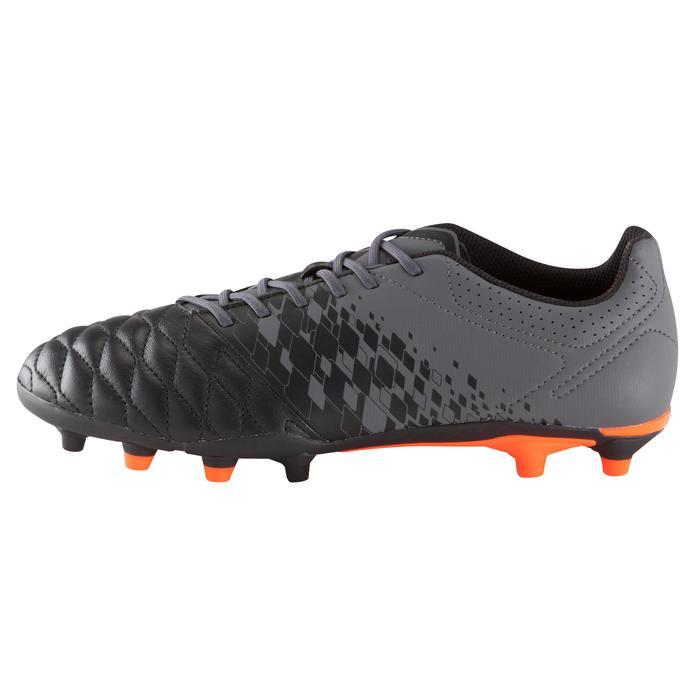 Chaussure de football adulte terrains secs Agility 900 FG noire grise - 1176672