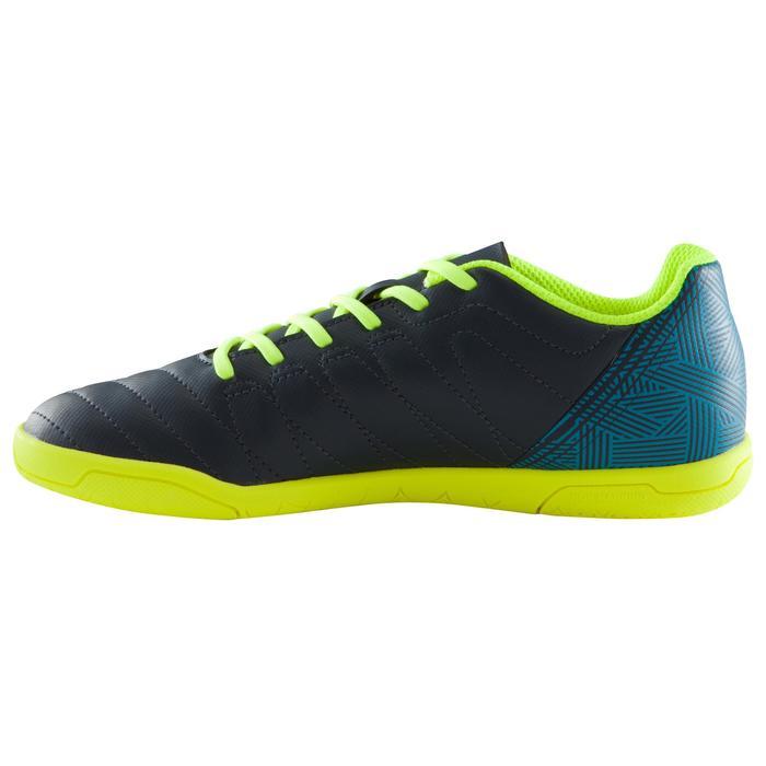 Chaussure de futsal enfant CLR 500 bleue jaune - 1176675