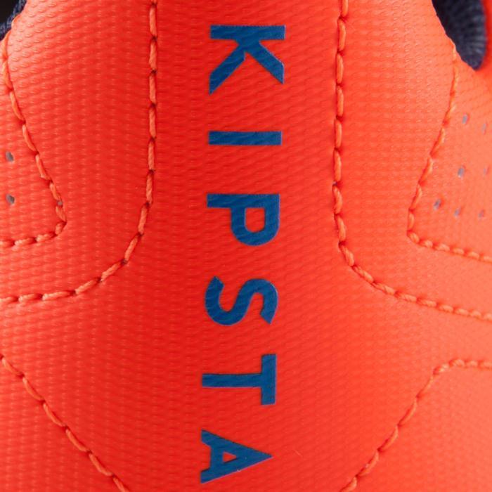 Chaussure de football enfant terrains secs Agility 500 FG bleu orange - 1176678
