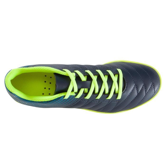 Zaalvoetbalschoenen kind CLR 500 blauw/geel