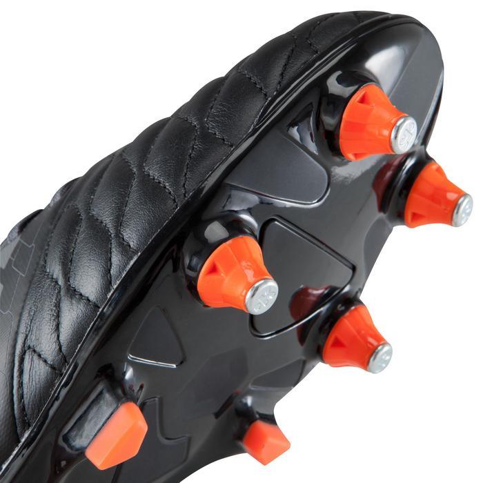 Chaussure de football adulte terrains gras Agility 900 SG noire grise - 1176698