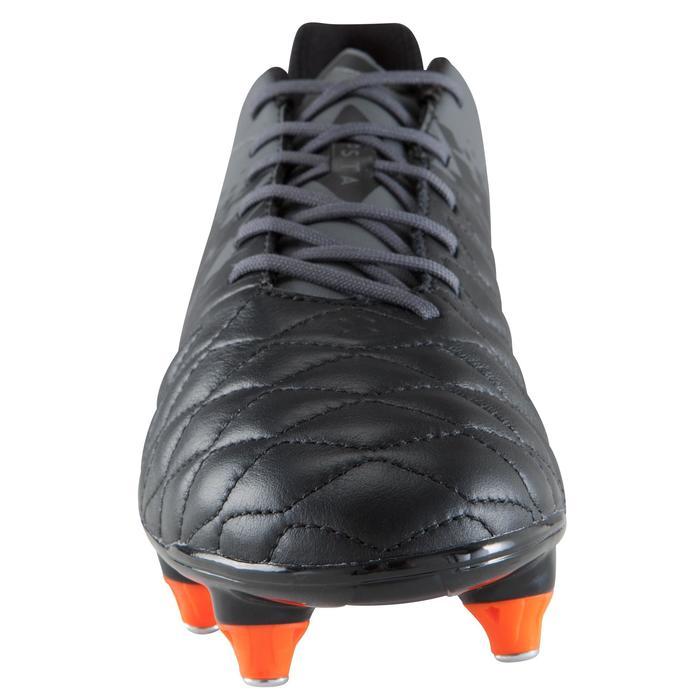 Chaussure de football adulte terrains gras Agility 900 SG noire grise