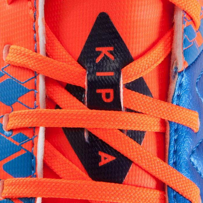 Chaussure de football enfant terrains secs Agility 500 FG bleu orange - 1176708