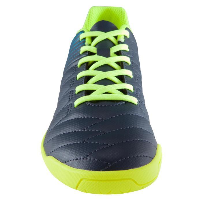 Zaalvoetbalschoenen kind CLR 500 sala blauw/geel