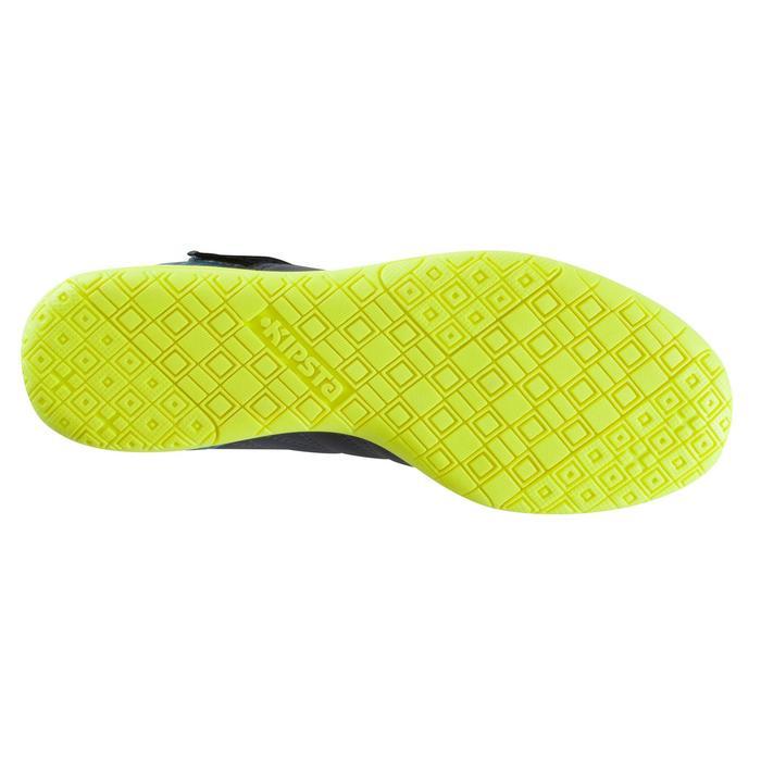 Chaussure de futsal enfant CLR 500 à scratch bleue - 1176725