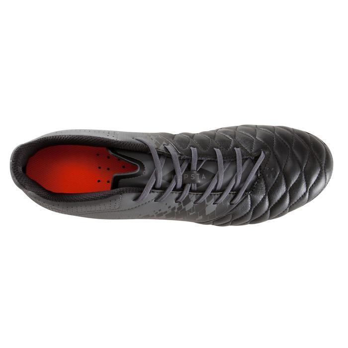 Chaussure de football adulte terrains secs Agility 900 FG noire grise - 1176731