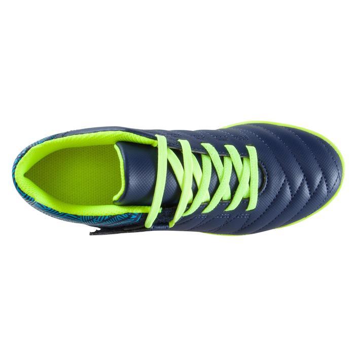 Chaussure de football enfant terrains durs Agility  300 HG à scratch bleue - 1176734