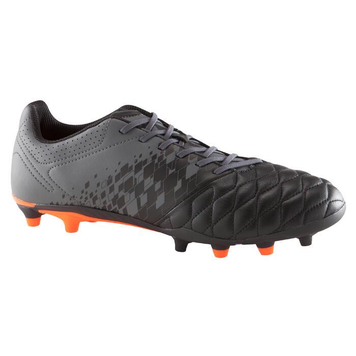 Chaussure de football adulte terrains secs Agility 900 FG noire grise - 1176739