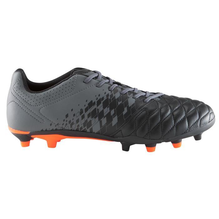 Chaussure de football adulte terrains secs Agility 900 FG noire grise - 1176745