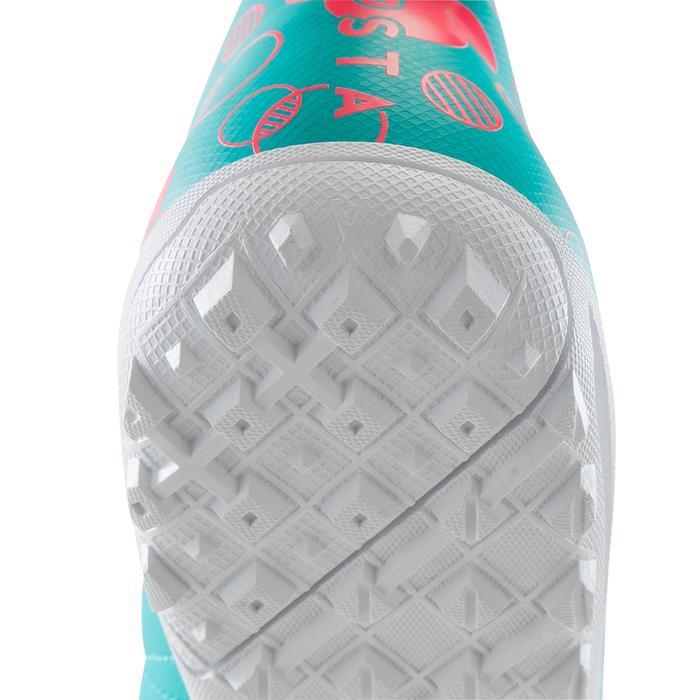 Chaussure de football enfant terrains durs Agility 300 HG bleue - 1176747