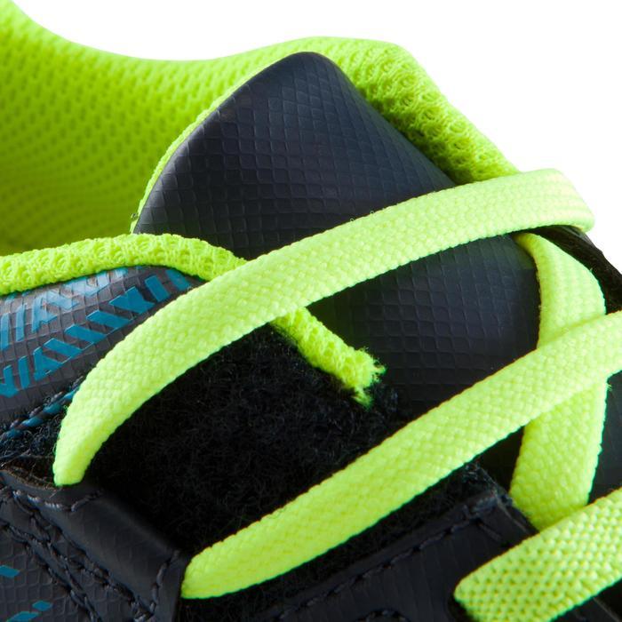 Chaussure de football enfant terrains durs Agility  300 HG à scratch bleue - 1176751