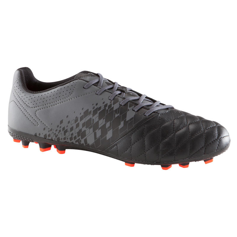 Agility 700 AG Adult Football Artificial Grass Boots - Black/Grey