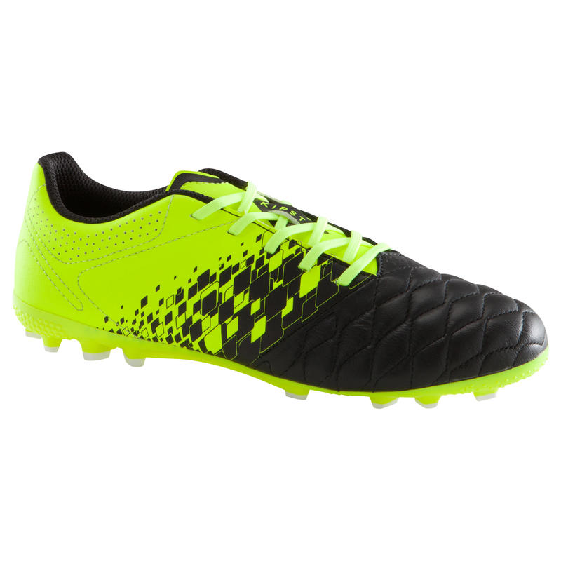 14594f15d Agility 700 AG Kids' Artificial Turf Football Boots - Black/Yellow