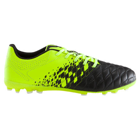 Agility 500 AG Adult Artificial Pitches Football Boots - Black/Yellow